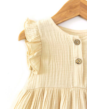 Odette Dress in Ivory - Reverie Threads