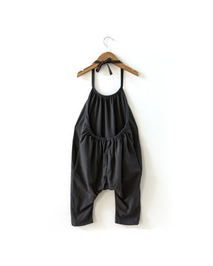 Chill Romper in Charcoal