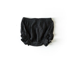 Ruffle Bloomers in Black