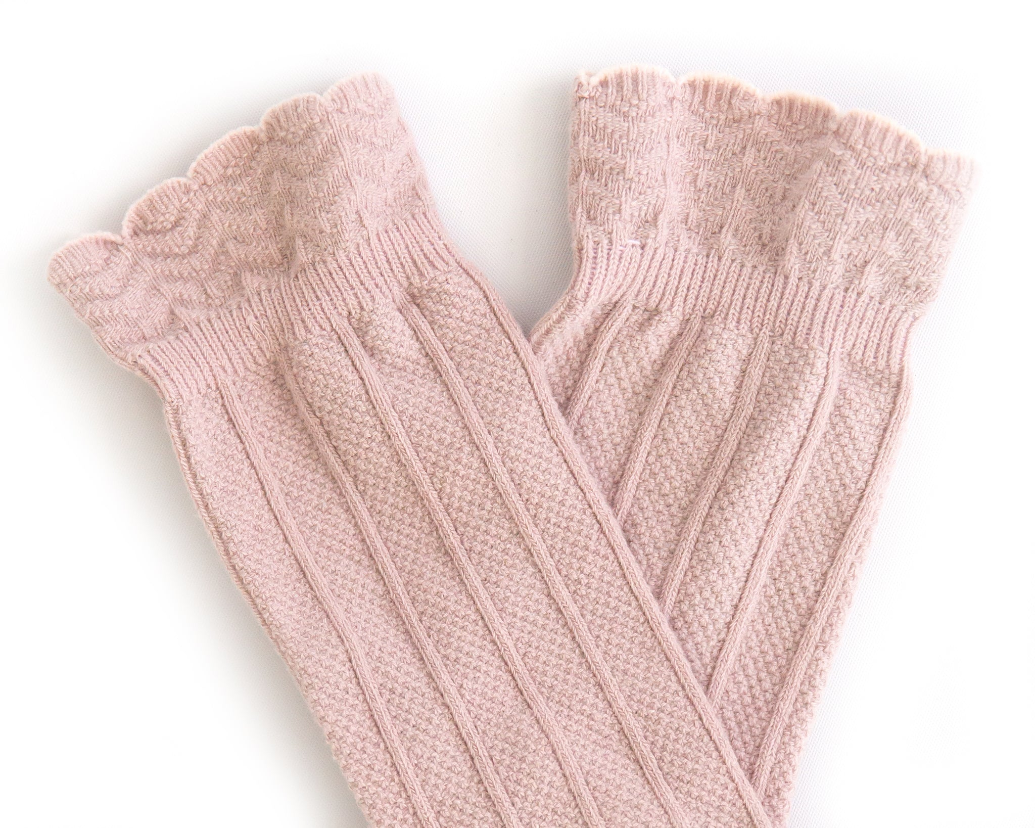 Knee High Socks in Blush - Reverie Threads
