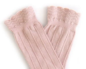 Knee High Socks in Blush
