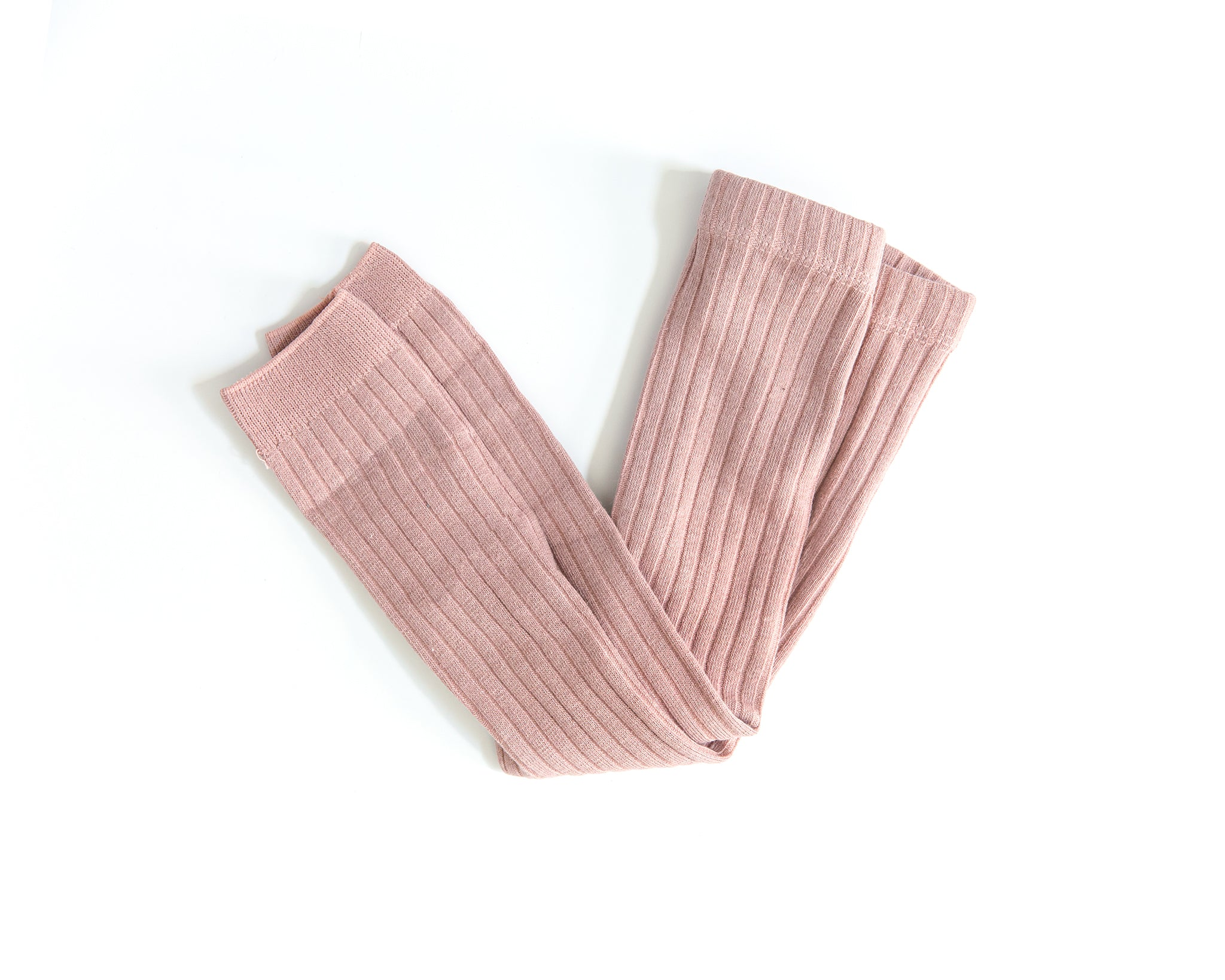 Knit Leggings in Rose