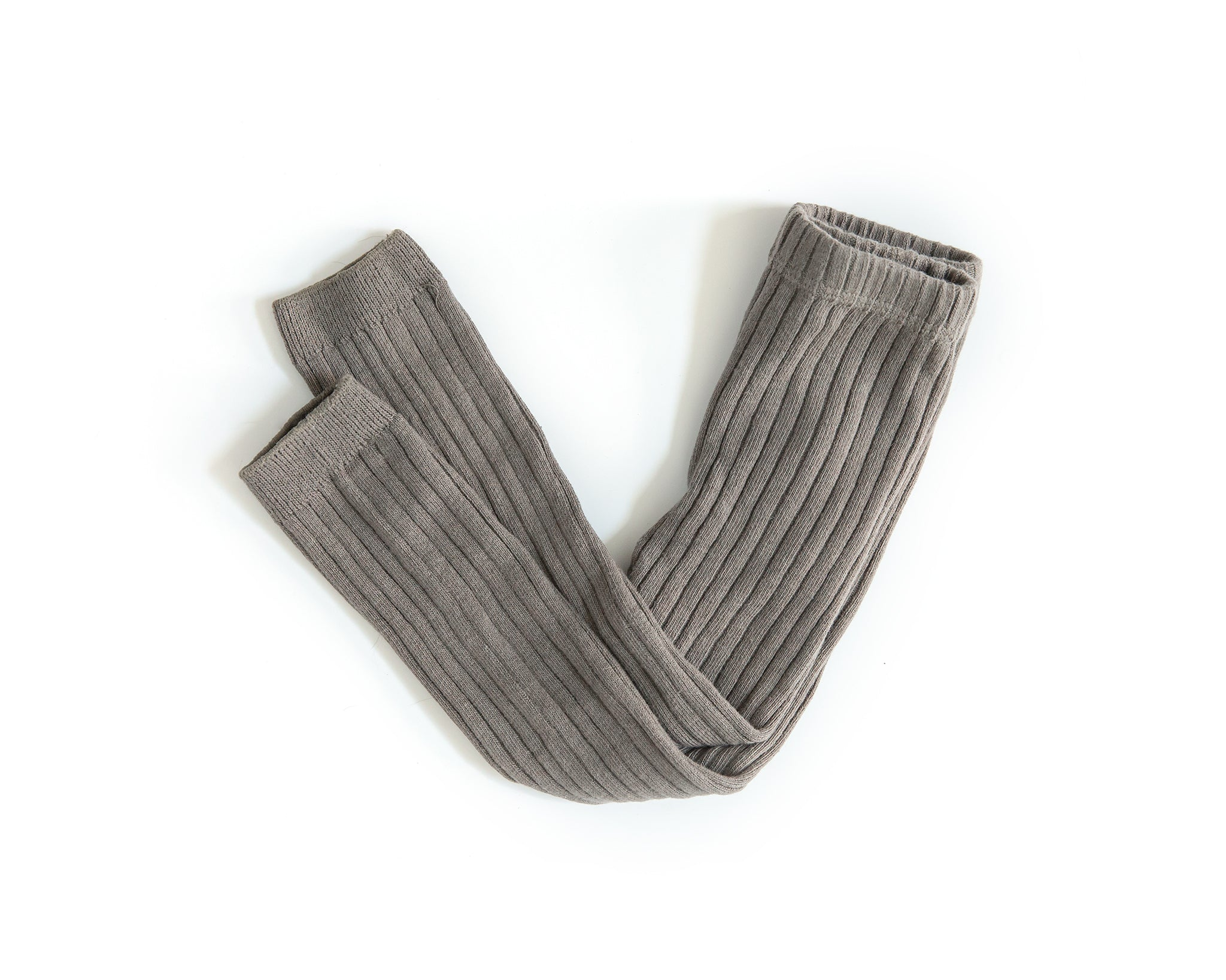 Knit Leggings in Taupe