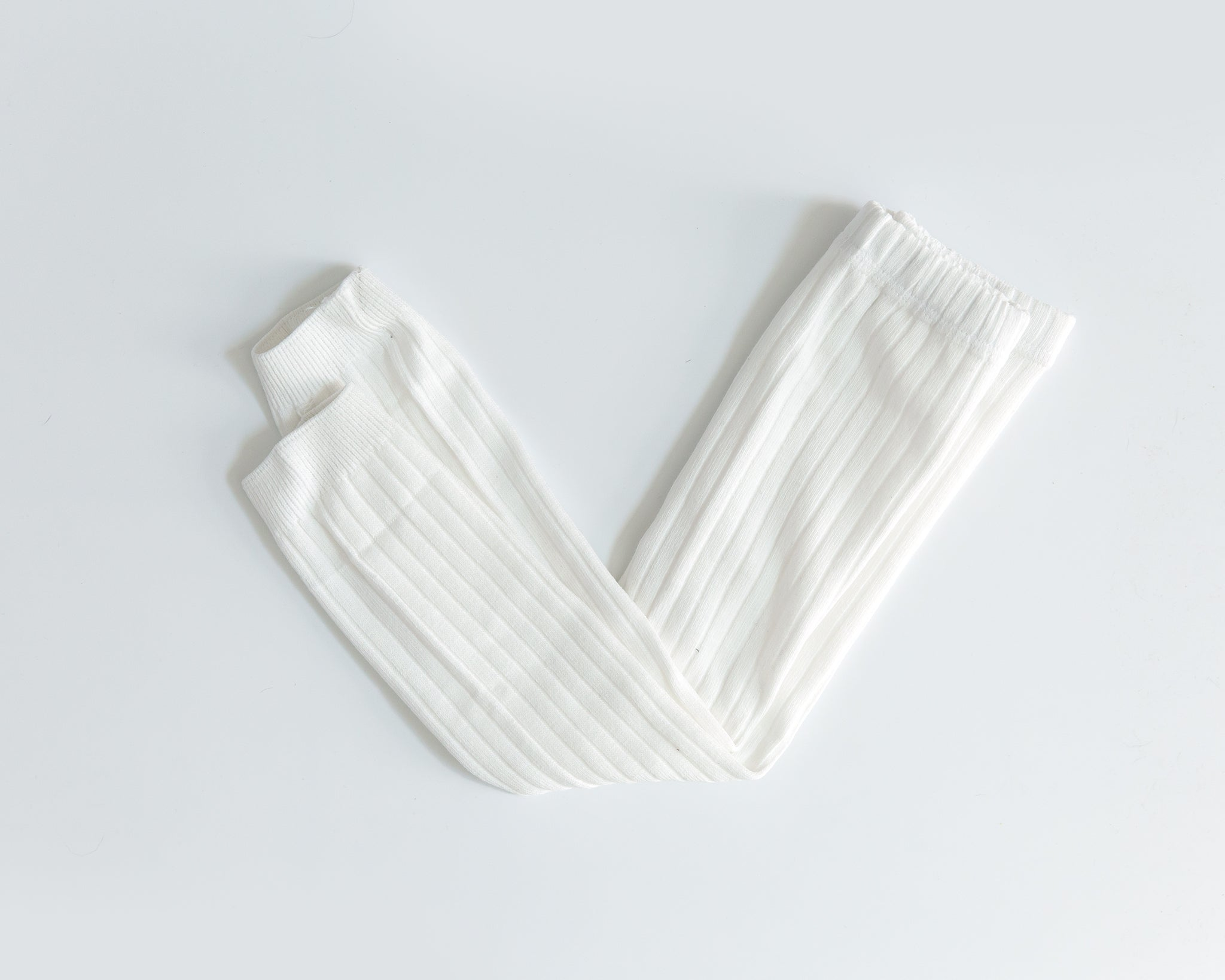Knit Leggings in White - Reverie Threads