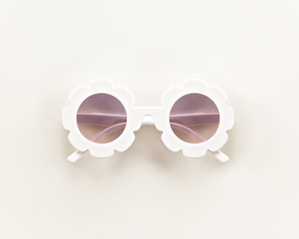 Flower Sunnies in White - Reverie Threads