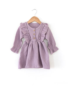 Madison Dress in Violet - Reverie Threads