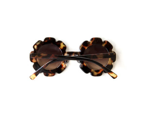 Flower Sunnies in Brown - Reverie Threads