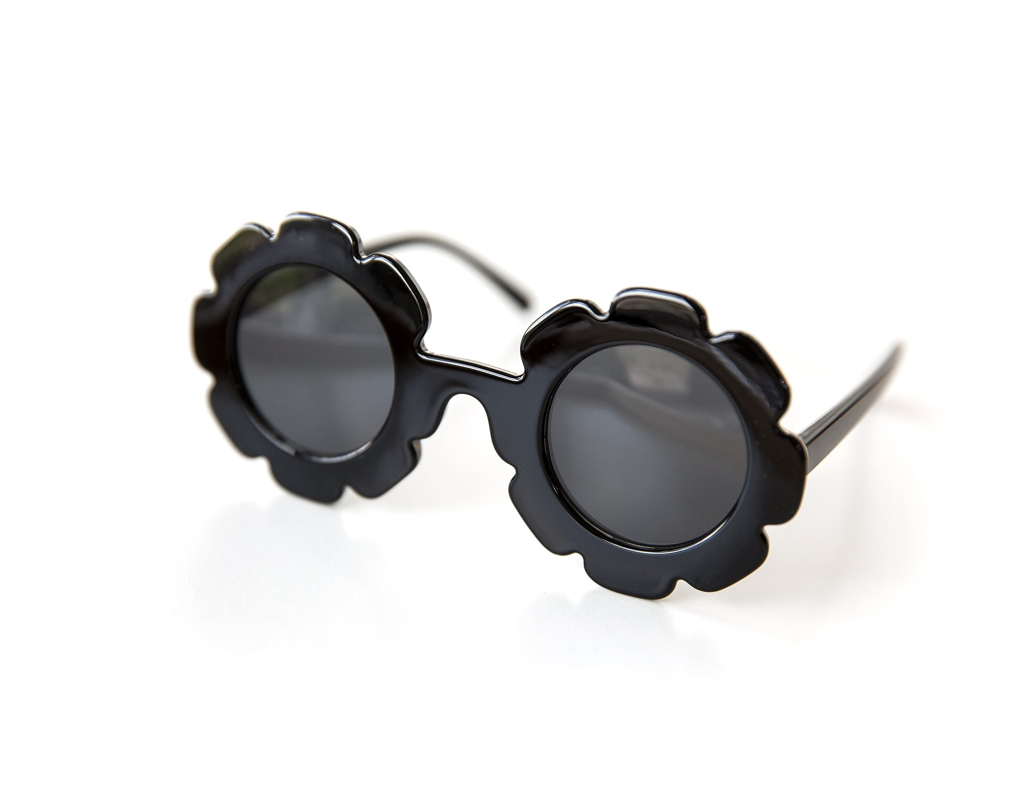 Flower Sunnies in Black - Reverie Threads