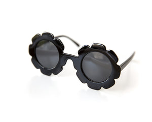 Flower Sunnies in Black