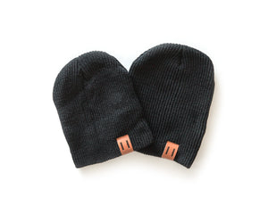 Daddy & Me Dude Beanie in Black - Reverie Threads