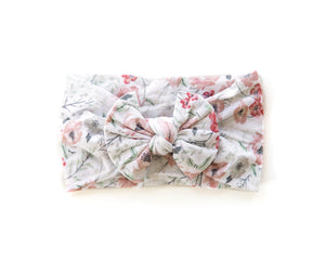 Nylon Knot Headband in Floral - Reverie Threads