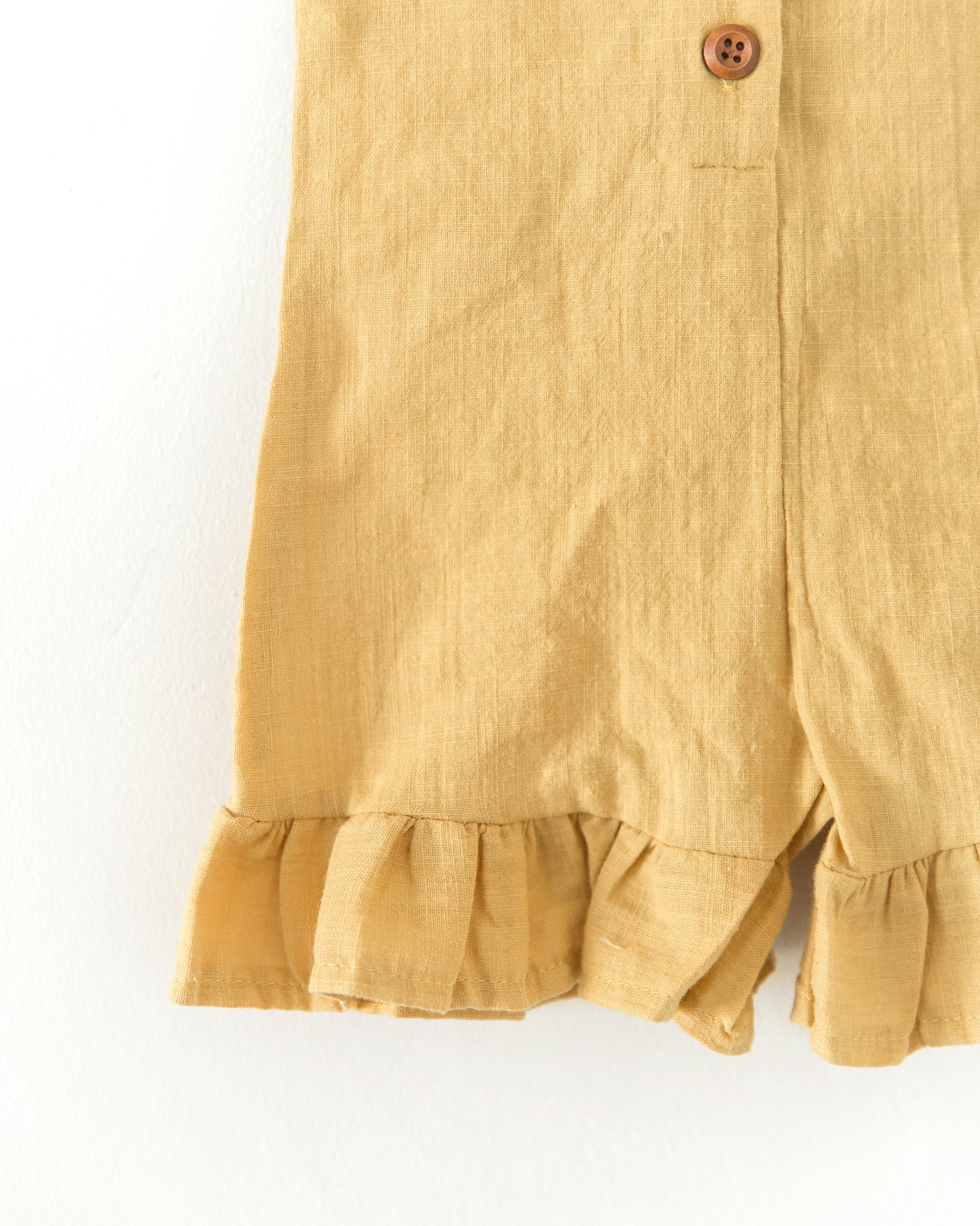 Jules Romper in Mustard Yellow - Reverie Threads