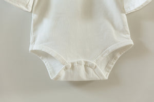 Annabelle Bodysuit in White - Reverie Threads