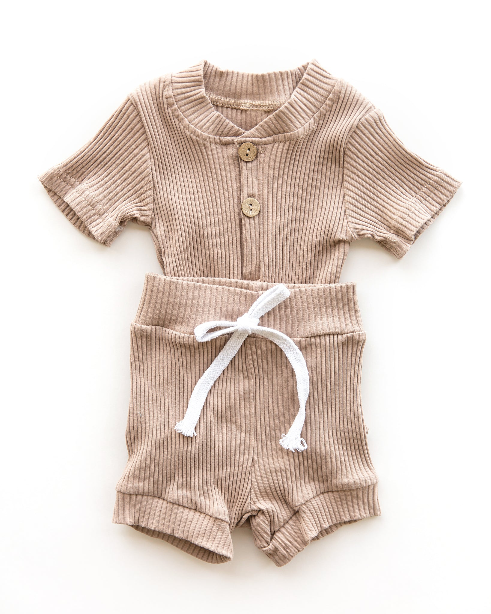 Lennon Outfit in Caramel - Reverie Threads