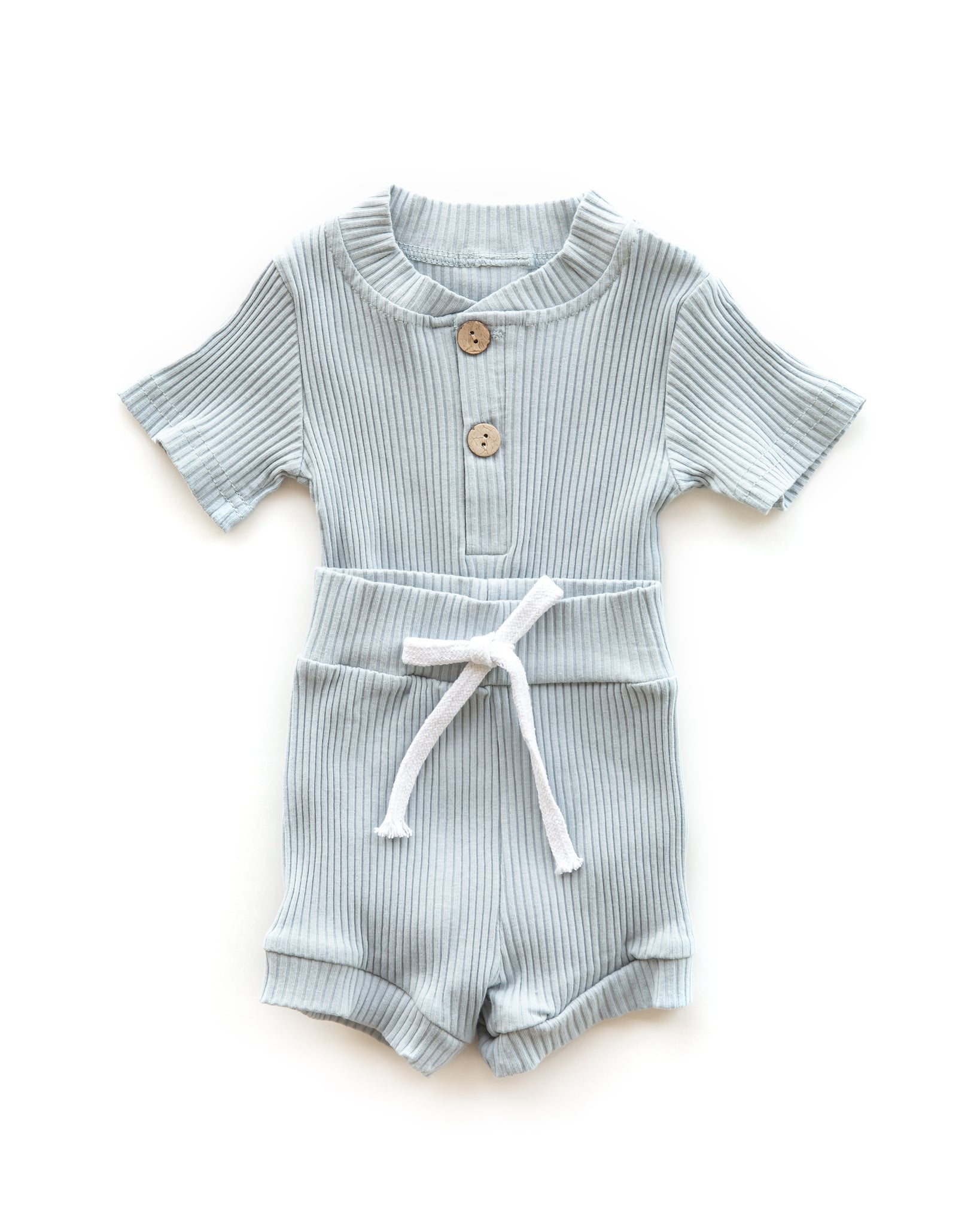 Lennon Outfit in Vintage Blue - Reverie Threads