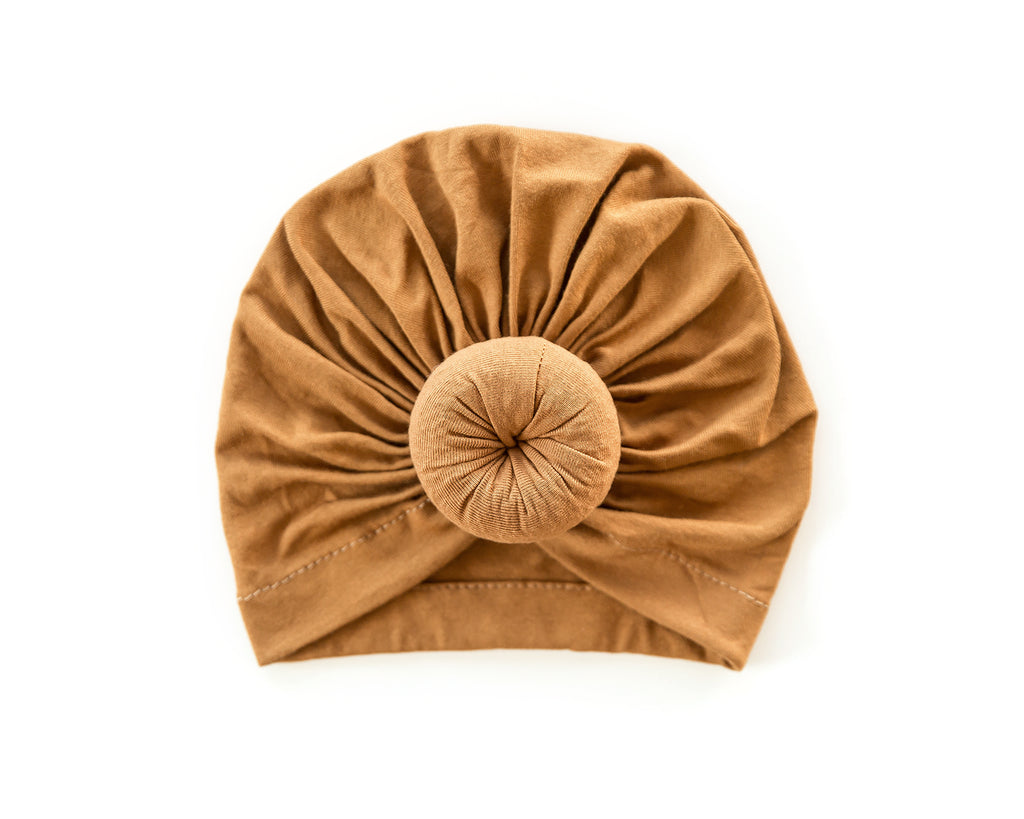 Knot Turban in Tawny - Reverie Threads