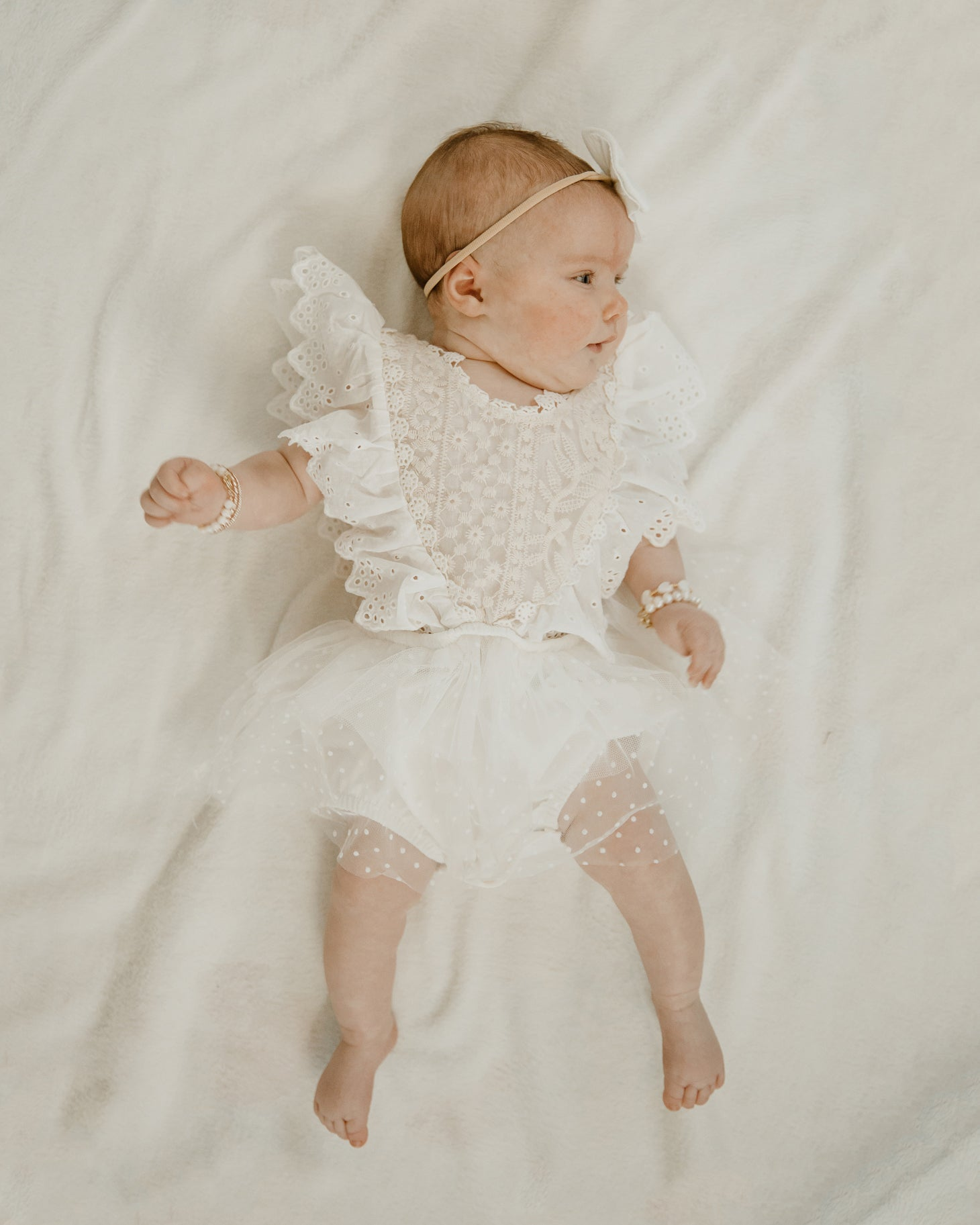 Hadley Scalloped Romper - Reverie Threads