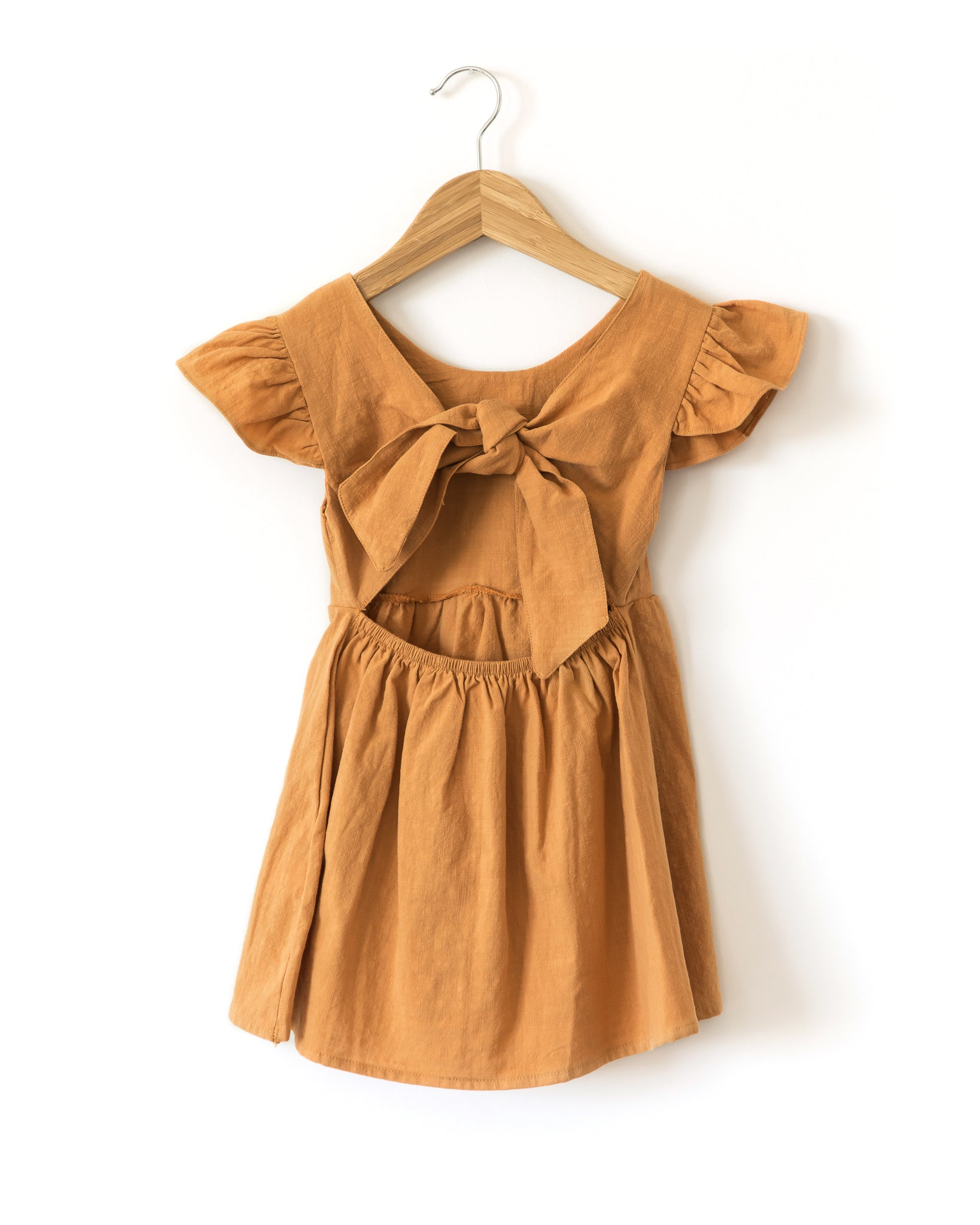 Aria Dress in Orange - Reverie Threads