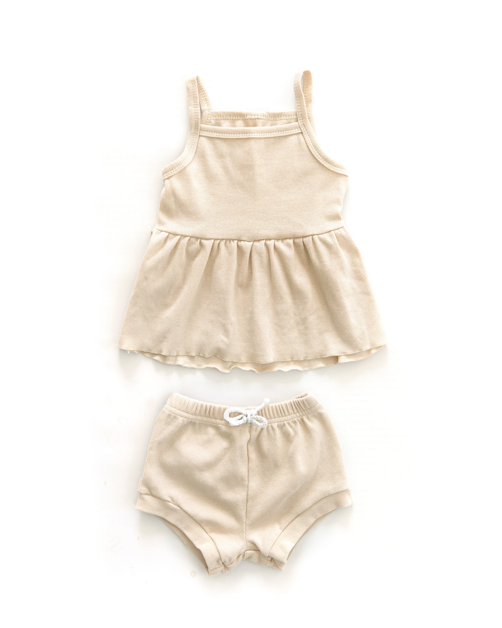 Candice Outfit in Oatmeal - Reverie Threads