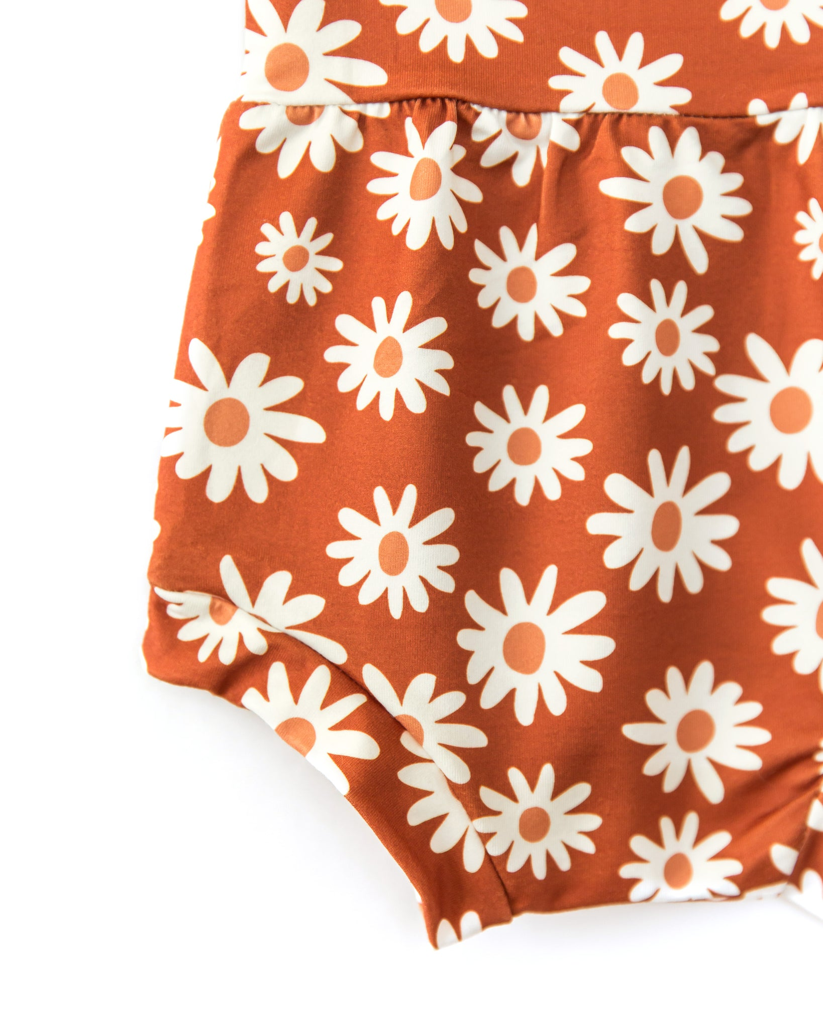 Brooklyn Bloomers In Rusty Orange Flowers - Reverie Threads