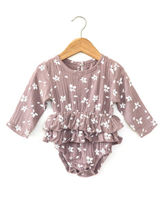 Embry Romper in Violet - Reverie Threads