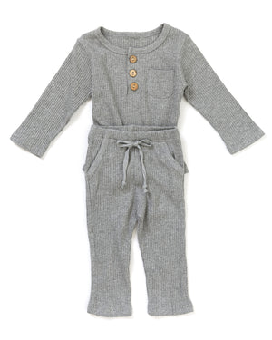 Gunner Outfit in Gray - Reverie Threads