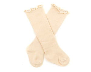 Eden Socks in Beige - Reverie Threads