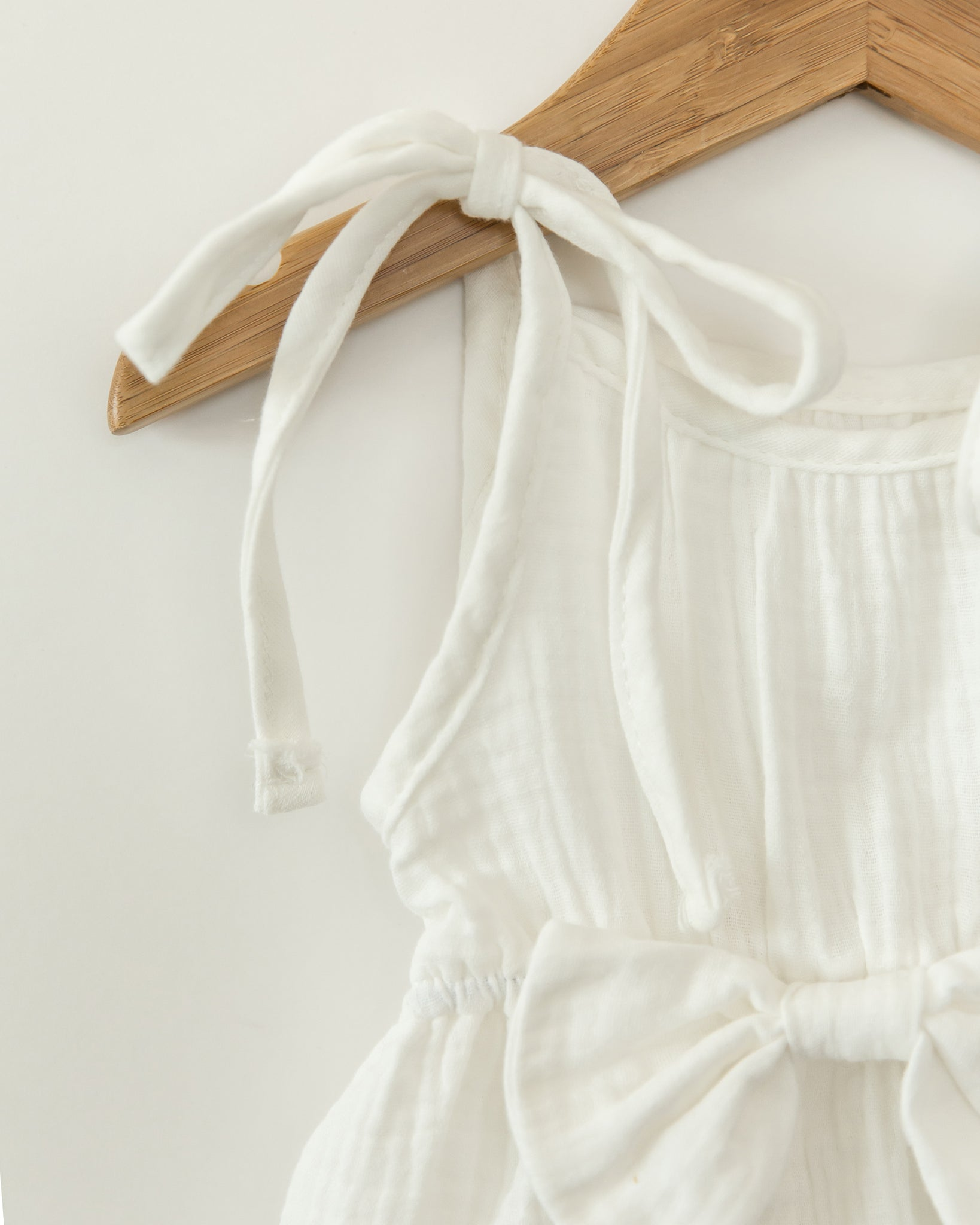 Brittany Romper in White - Reverie Threads