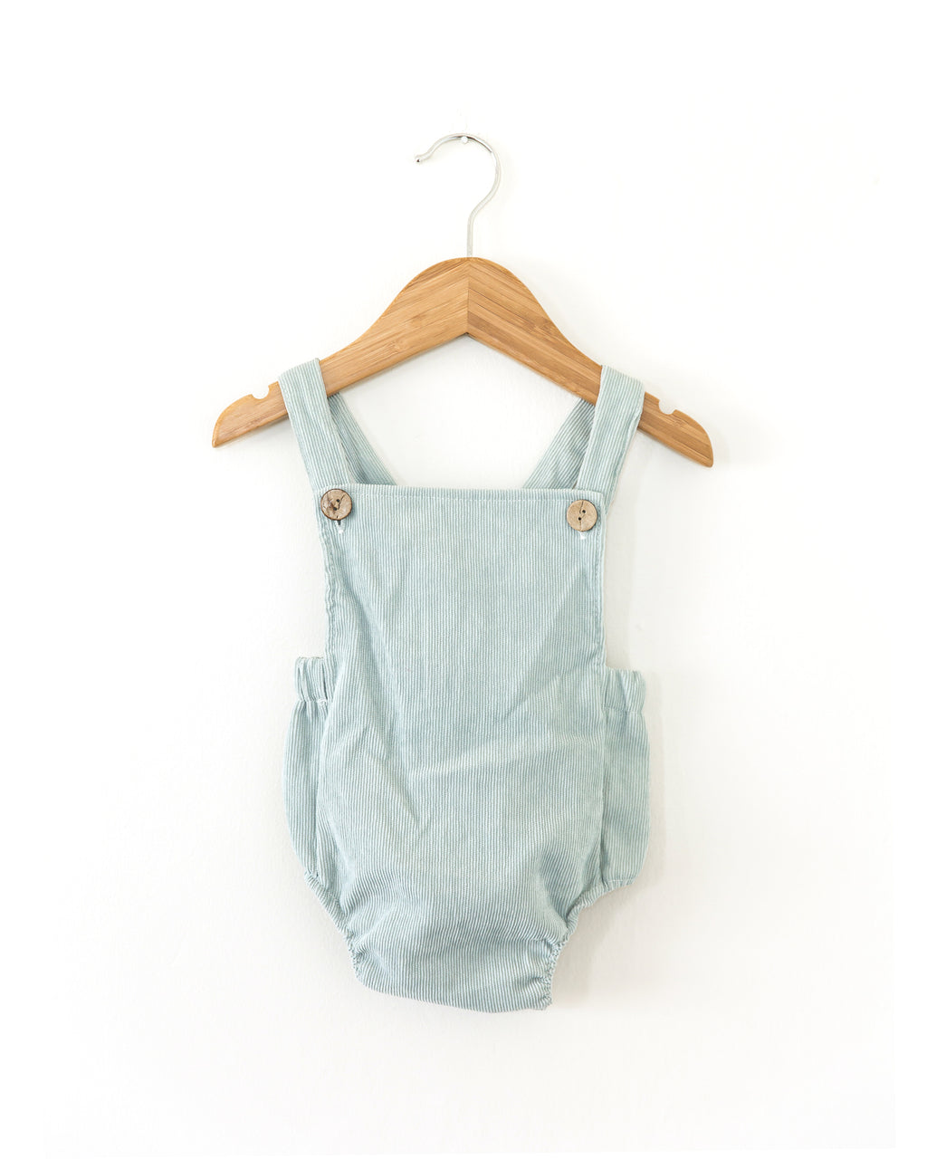 Vintage Corduroy Romper in Blue - Reverie Threads
