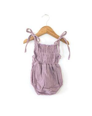 Ruby Romper in Violet - Reverie Threads
