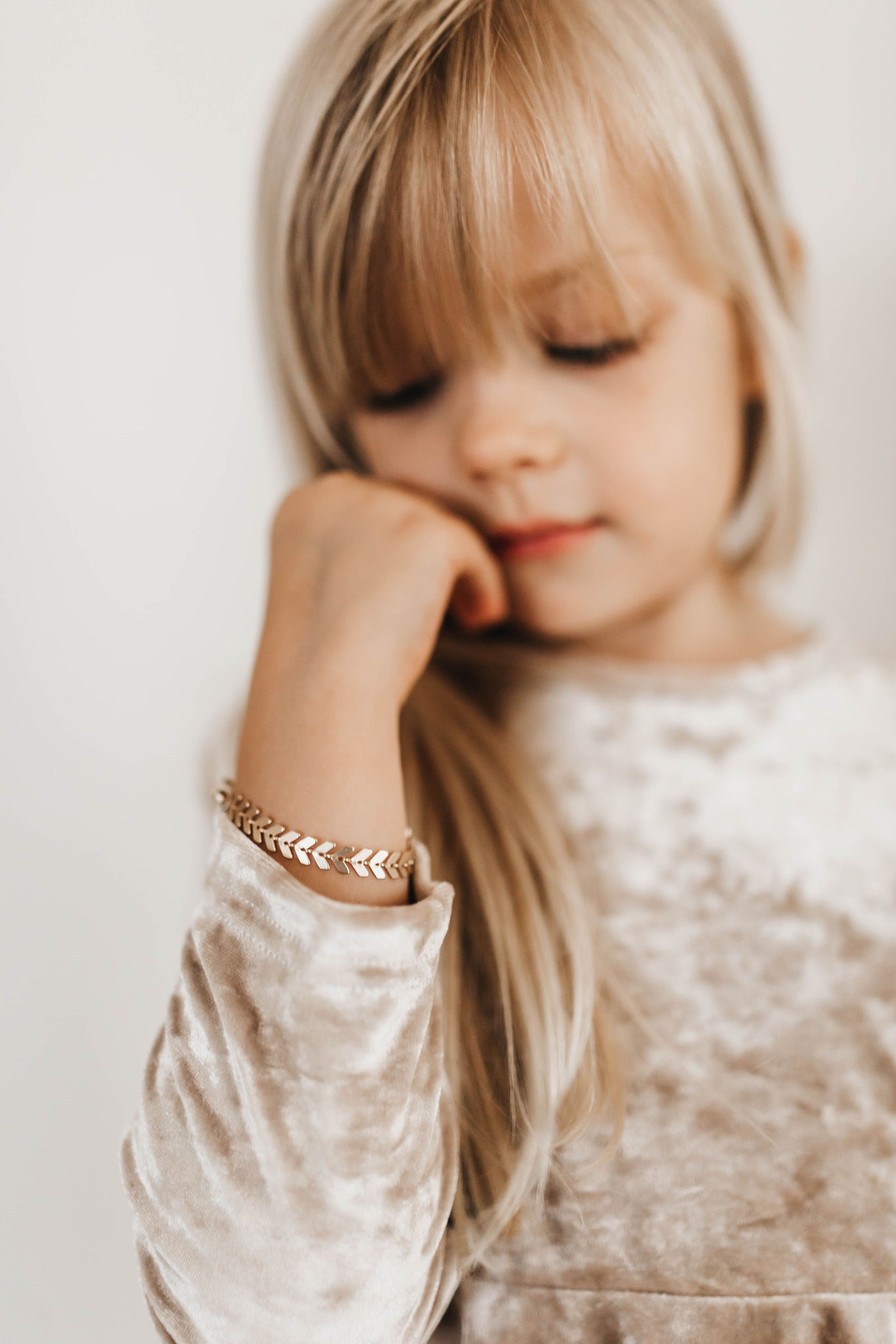 Golden Leaves Bracelet for Mommy & Me - Reverie Threads