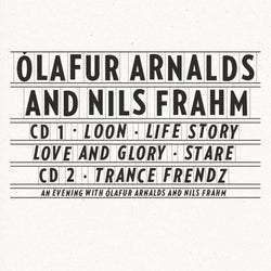 Ólafur Arnalds & Nils Frahm Collaborative Works 2CD 2CD- Bingo Merch Official Merchandise Shop Official