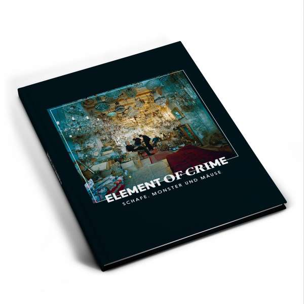 Element Of Crime Schafe, Monster und Mäuse CD - limitierte Songbook Edition CD- Bingo Merch Official Merchandise Shop Official