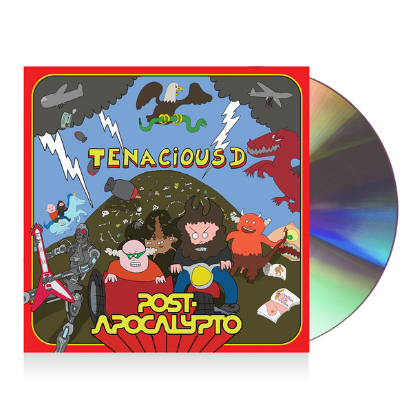 Tenacious D Post-Apocalypto CD CD- Bingo Merch Official Merchandise Shop Official