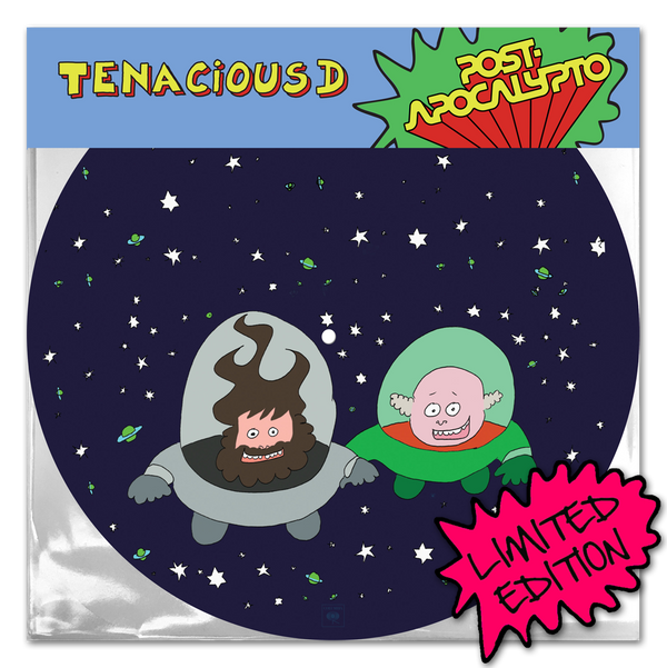Tenacious D Post-Apocalypto Picture Disc LP LP- Bingo Merch Official Merchandise Shop Official