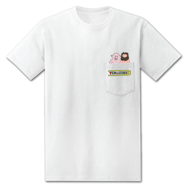 Tenacious D Pocket T-shirt T-shirt- Bingo Merch Official Merchandise Shop Official