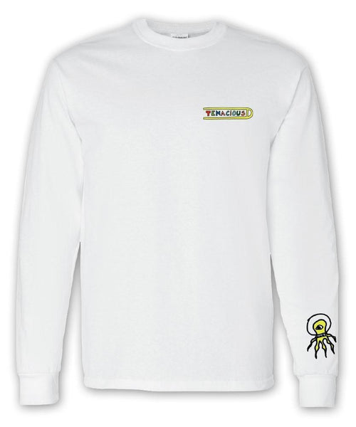 Tenacious D Alien Longsleeve Longsleeve- Bingo Merch Official Merchandise Shop Official