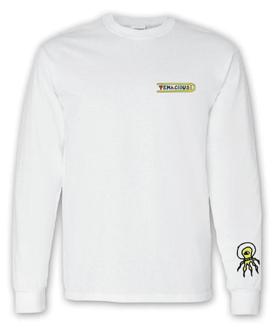 Tenacious D Alien Longsleeve T-Shirt- Bingo Merch Official Merchandise Shop Official
