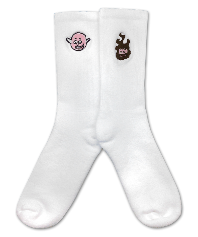 Tenacious D Faces Socks Socks- Bingo Merch Official Merchandise Shop Official