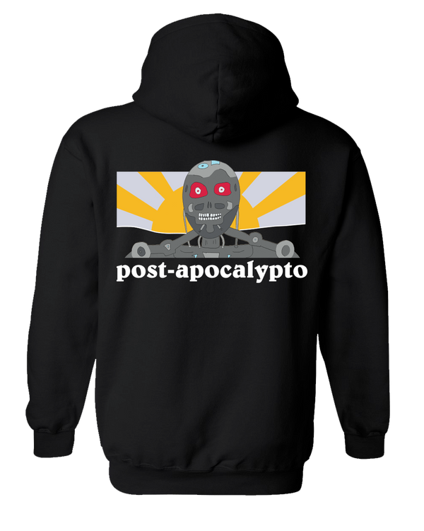Tenacious D Robot Hoodie Hoodie- Bingo Merch Official Merchandise Shop Official