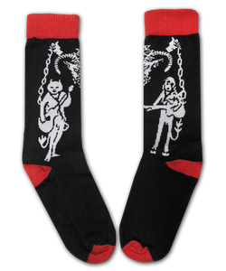 Tenacious D Devil Socks Other- Bingo Merch Official Merchandise Shop Official