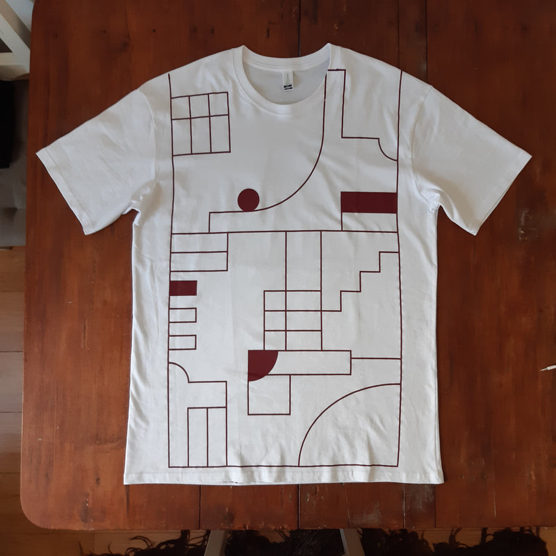 Efterklang Altid Sammen oversized all-over-print T-shirt T-Shirt- Bingo Merch Official Merchandise Shop Official
