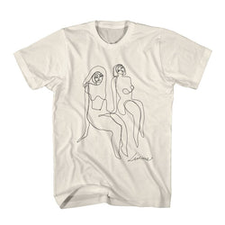 Lucius Nudes Drawing Natural Tshirt- Bingo Merch Official Merchandise Shop Official
