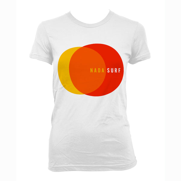 Nada Surf 2 Circles - girls T-Shirt- Bingo Merch Official Merchandise Shop Official