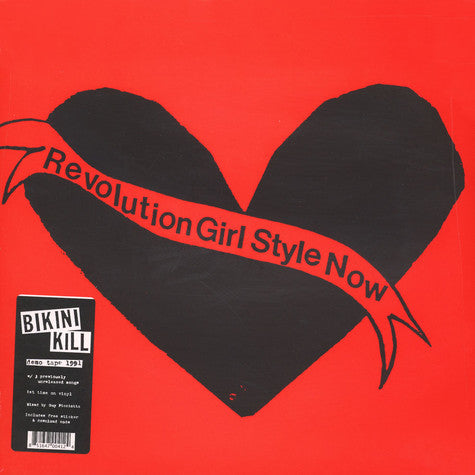 Bikini Kill Revolution Girl Style Now LP LP- Bingo Merch Official Merchandise Shop Official