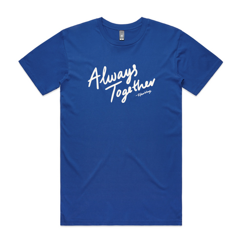 Efterklang Always Together Blue T-Shirt- Bingo Merch Official Merchandise Shop Official