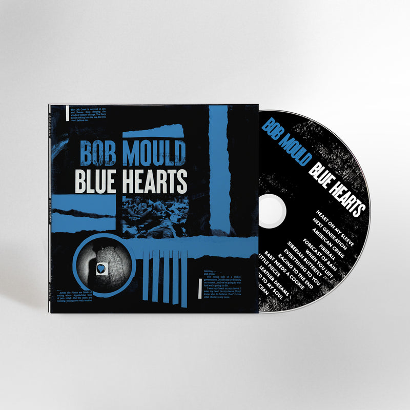 Bob Mould (PRE-ORDER) Blue Hearts CD CD- Bingo Merch Official Merchandise Shop Official