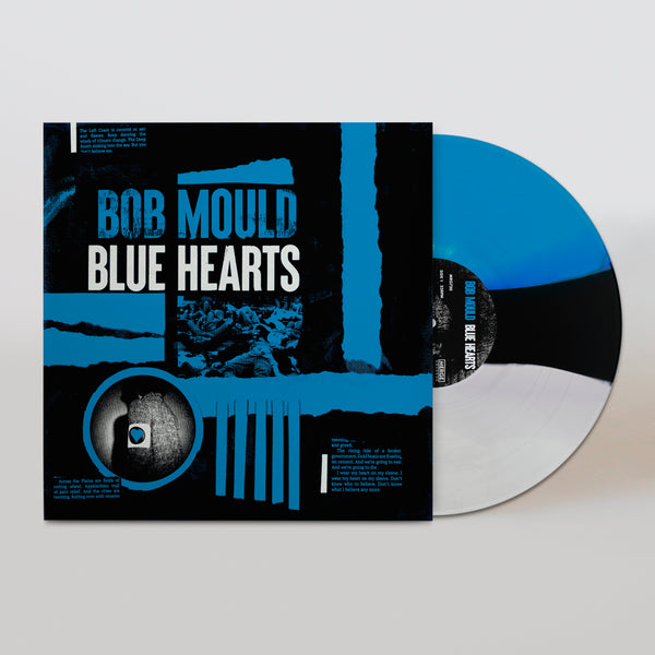 Bob Mould (PRE-ORDER) Blue Hearts Limited Edition Colour LP LP- Bingo Merch Official Merchandise Shop Official