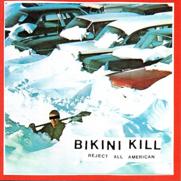 Bikini Kill Reject All American CD CD- Bingo Merch Official Merchandise Shop Official