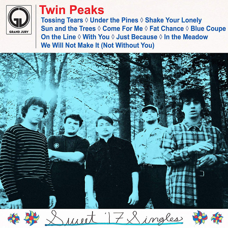 Twin Peaks Sweet '17 Singles LP LP- Bingo Merch Official Merchandise Shop Official